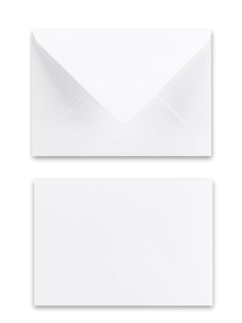 obálka biela 114x162 120g papier