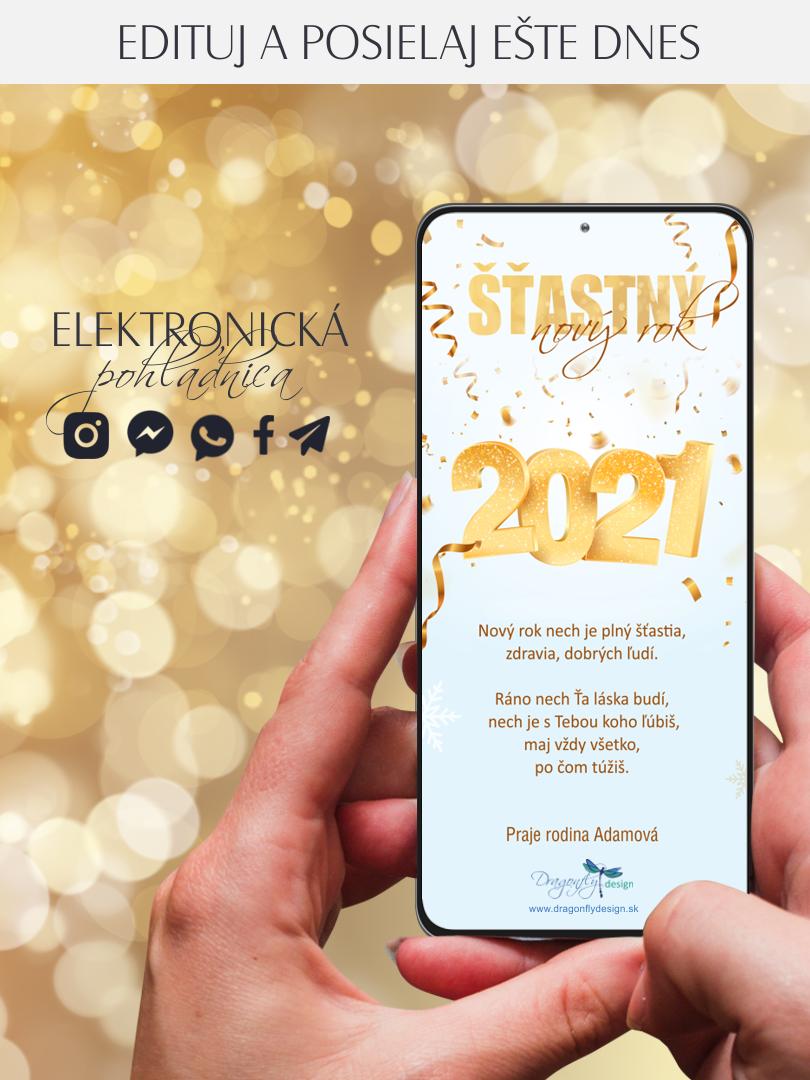 Elektronická pohľadnica PF 2021