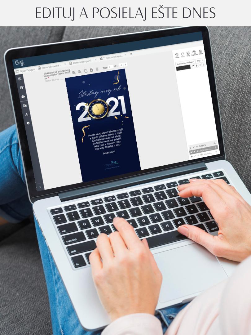 PF 2021 Elektronická pohľadnica