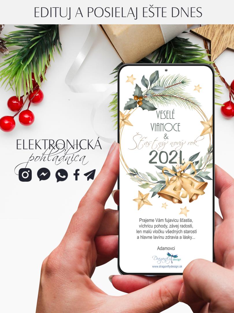 Elektronická vianočná pohľadnica