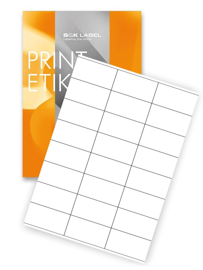 samolepiace etikety 70 x 36 mm