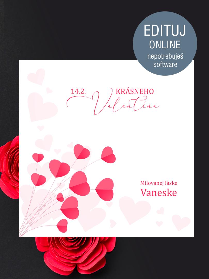 Pozdrav na Valentína