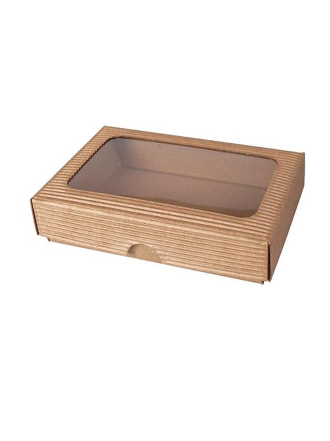 škatuľka 2VL s okienkom 150x100x35