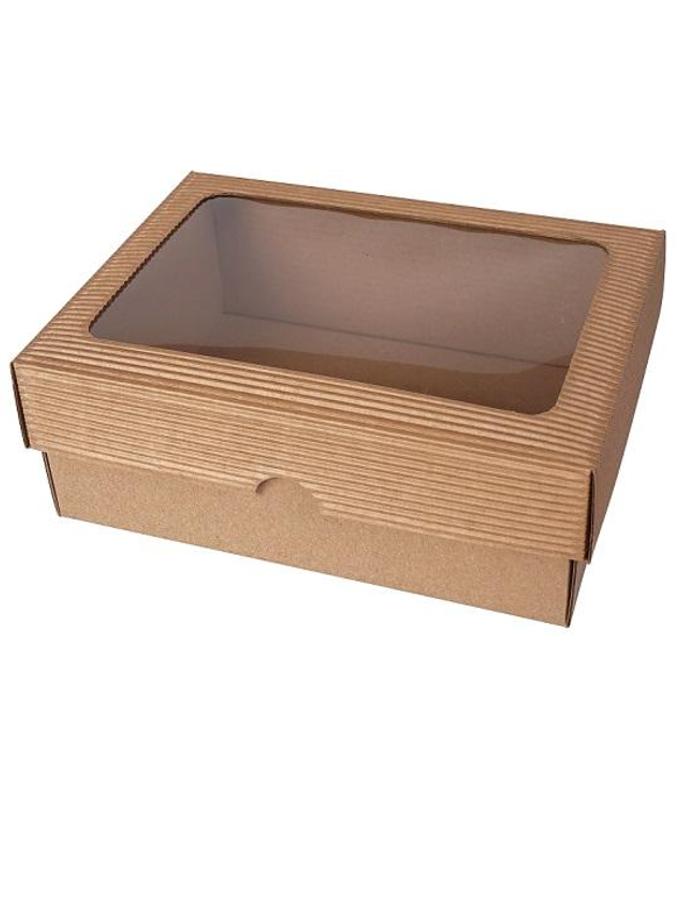 škatuľka 2VL s okienkom 200x150x70