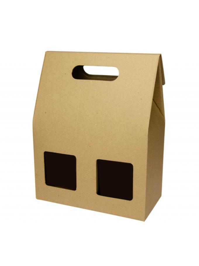 Darčeková škatuľka s dvomi okienkami