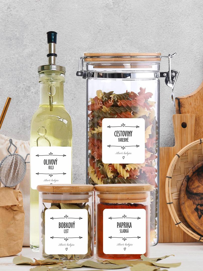 Etikety na potraviny s editáciou