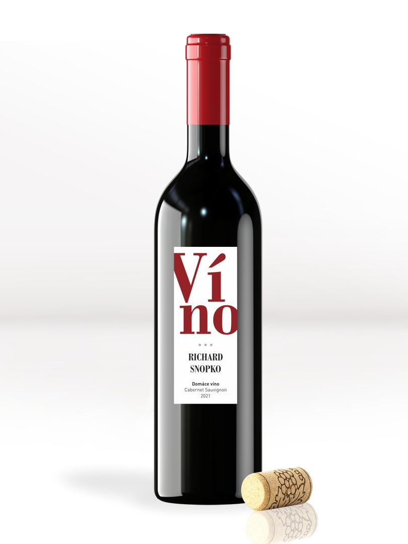 Etikety na víno na vytlačenie