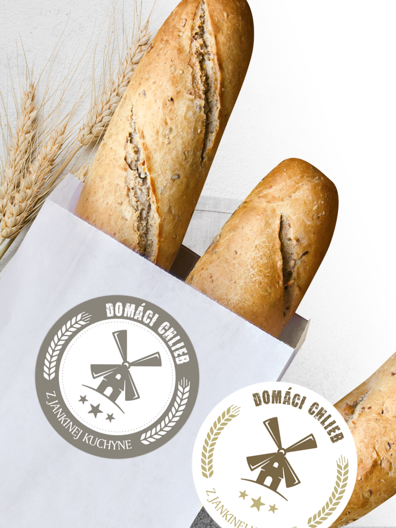 Etikety na domáci chlieb